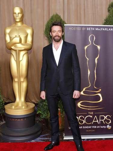 Hugh Jackman, nominado en la categoría de Mejor actor por su actuación en \