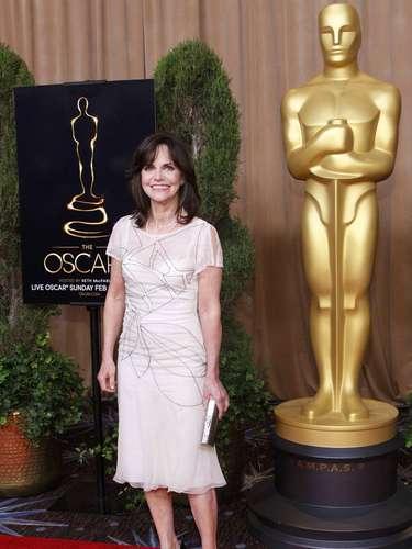 Sally Field, nominada en la categoría de Mejor actriz de reparto por \