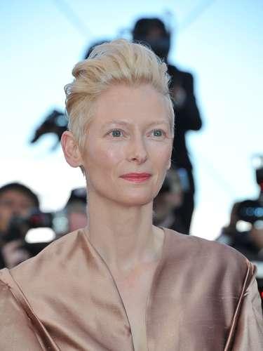 Tilda Swinton dijo en el 2008 que se alejaba por un tiempo del cine porque no quería que sus hijos vivieran 'entre maletas'