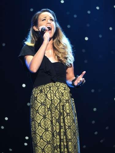 La cantante Britt Nicole se ganó un puesto en la categoría Mejor Álbum de Música Cristiana Contemporánea del Grammy, luego de colocar su disco \