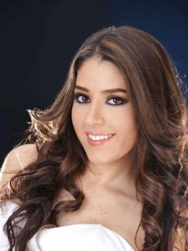 Gabriela Chiriboga Moncayo - Pichincha. Tiene 23 años de edad, su estatura es de 1.70 metros.