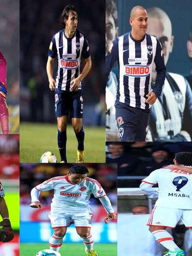 Te presentamos a los futbolistas a seguir en el juego entre Monterrey y Chivas. Cualquiera de ellos, en su posición, puede marcar la diferencia en el juego sabatino que se disputará en el estadio Tecnológico.