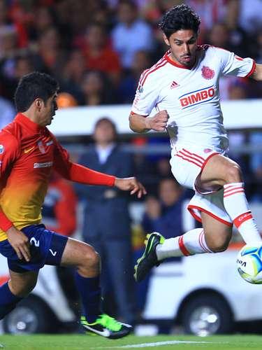 Rafael Márquez Lugo tiene grandes destellos y este torneo suma dos buenos tantos: ante Cruz Azul y Monarcas (foto).