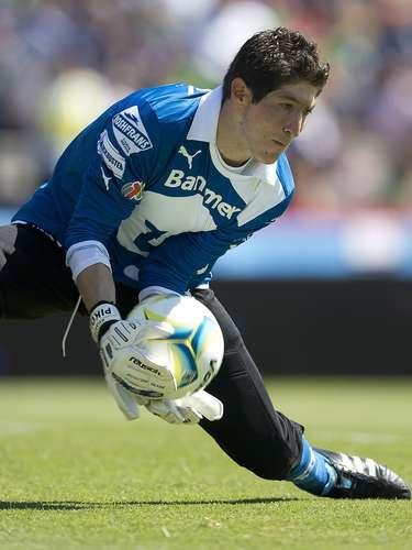 El portero de Pumas Alejandro Palacios tendrá mucha actividad y será puesto a prueba por el ataque celeste