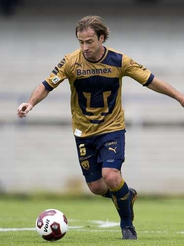 Martín Romagnoli es el hombre importante de los Pumas en la recuperación en el medio campo