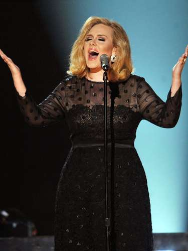 Adele sweeped and killed it with \