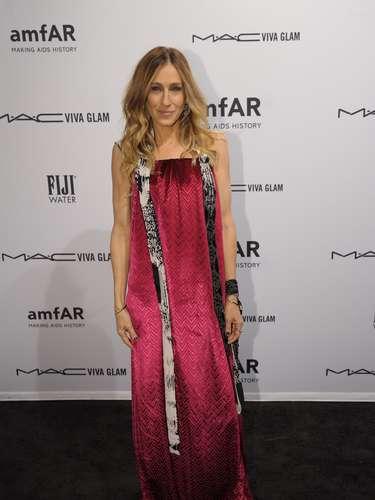 Sarah Jessica Parker no podía faltar en el inicio de la semana de moda de Nueva York.