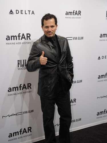 El actor colombiano John Leguizamo también asistió al evento.