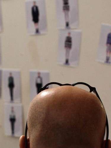 El diseñador Lie Sang Bong de Concept Korea durante la semana de la moda en Nueva York