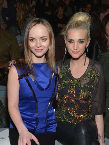 Ashlee Simpson has been laying low from the entertainment scene but we're glad the beautiful lady makes her rounds at events often. This week during New York Fashion Week Ash has been rubbing elbows with celebs and looking fabulous in everything from sweet to edgy looks. Here she is with Christina Ricci.