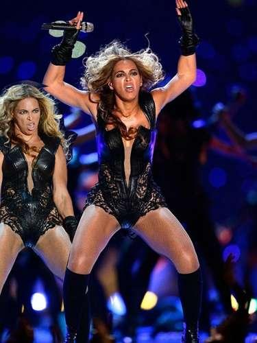 La propia Beyoncé quedó sorprendida de lo que ella misma es capaz de hacer sobre el escenario.