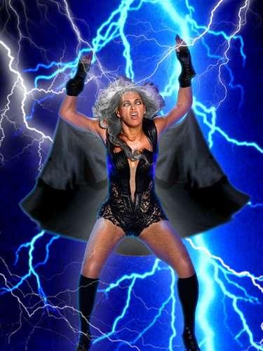 Beyoncé domina los elementos como 'Tormenta', uno de los X-Men con más poder en el universo Marvel.