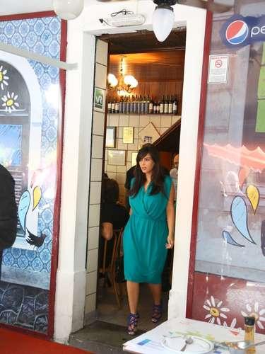 Kim Kardashian y Kayne West fueron a comer a un restaurante carioca