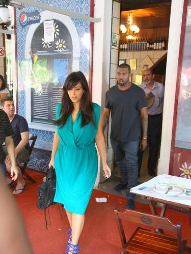 Kim Kardashian y Kayne West no han revelado el sexo de su bebé