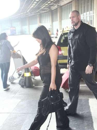 Kim Kardashian presumió su embarazo en Brasil