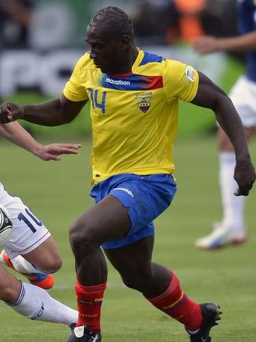 Ecuador dio la sorpresa y derrotó a domicilio 3-2 a Portugal, el jugador de Puebla, Segundo Castillo salió de cambio al minuto 77.