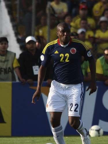 Aquivaldo Mosquera se quedó en la banca en el Colombia 4-1 Guatemala.