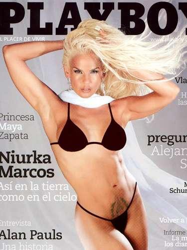 Niurka quiso vivir la experiencia de presumir sus curvas en Playboy. Sin dar un paso atrás la cubana demostró, una vez más, que los retos son lo suyo.