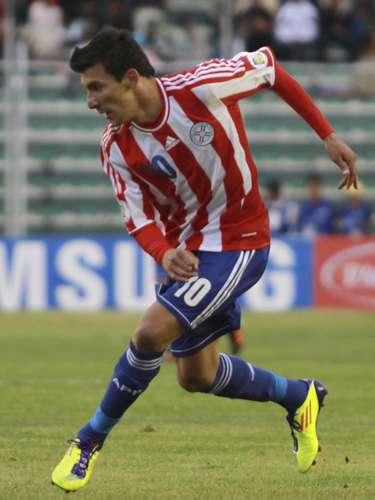 Édgar Benítez jugó los 90 minutos en el amistoso que sostuvo la selección de Paraguay 3-0 sobre El Salvador.