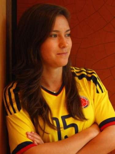 Tatiana Ariza (Fútbol-Colombia): Esta linda mediocampista es otro de los grandes talentos del fútbol femenino colombiano, por lo que se ganó el derecho a ser una de las jugadoras que participó en los Juegos Olímpicos de Londres 2012.