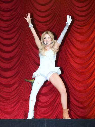 Ahora con45 años es una de las mujeres más sensuales que hacen vida en la industria musical latina.