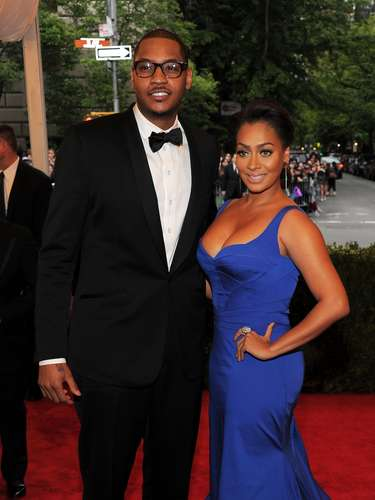 La estrella de los Nueva York Knicks, Carmelo Anthonyy la conductora de MTV, LaLa Vásquez han estado juntos desde 2004.Se casaron en 2010 y tienen un hijo llamado Kylan, que nació en 2007.