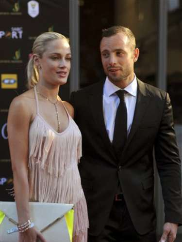 Steenkamp, 30, died at the scene.