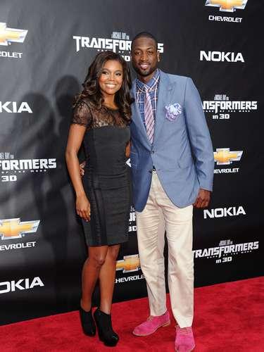 Gabrielle Union y el basquetbolista Dwyane Wade están juntos desde 2010. Incluso, Wade fue acompañado por su parejaa la Casa Blanca cuando el Heat se reunió con el presidente Barack Obama.