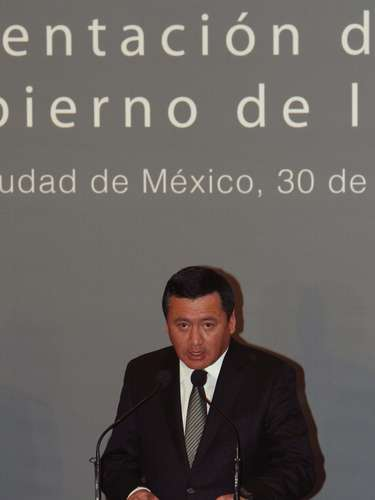 El secretario de Gobernación (Interior), Miguel Ángel Osorio Chong, aseguró que Guzmán \