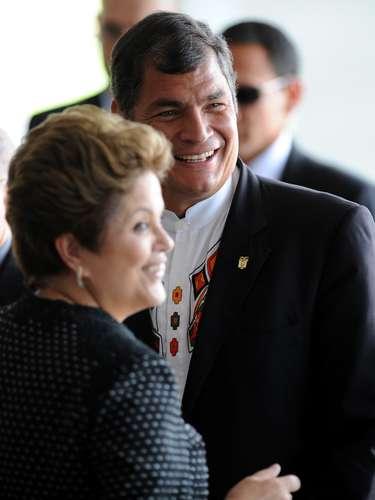 Correa ha manifestado su interés en evaluar un ingreso de Ecuador al Mercosur, pero ha dicho que el país debe estudiar bien cómo eso afectaría su economía, dolarizada desde 2000. A pesar de problemas puntuales que hubo entre ambos países, como una controversia en 2008 por el rol de una empresa brasileña en la construcción de la hidroeléctrica de San Francisco, Velasco evaluó que la relación bilateral en los últimos años fue \