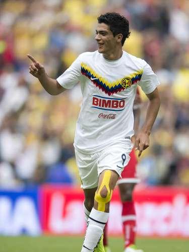 Raúl Jiménez puso el 1-1 al 34'.