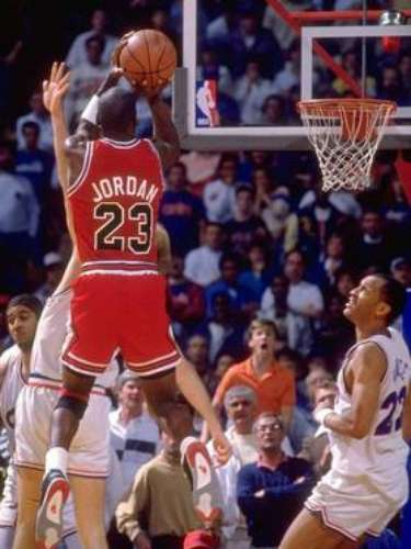 6. 'The Shot:' The score that put Jordan on the map. This buzzer-beater in Game 5 of the firstround knocked off the favored Cavaliers and was the first step in cementing Jordan's legacy as maybe the best clutch player in history. MJ scored 44 points, had 9 rebounds and 6 assists in the victory.