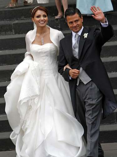 México. Angélica Rivera, esposa del presidenteEnrique Peña Nieto.