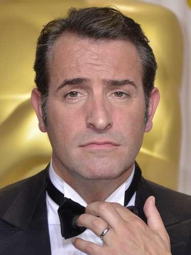 Aunque no parezca, Jean Dujardin celebraba su Oscar como Mejor Actor del 2012, por su protagónico en 'The Artist.