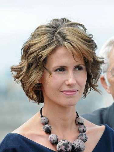 Siria. Asma al-Assad,esposa del presidente Bashar al-Assad.