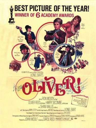 En 1968 el musicalOliver!, del directorCarol Reed, ganó la distinción de ese año.