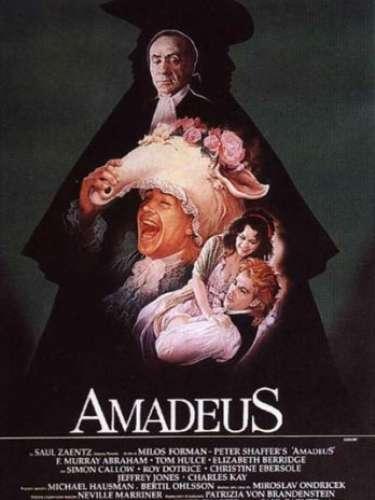 En 1984 el drama histórico y románticoAmadeus, del directorMilo Forman, obtuvo el reconocimiento de ese año.