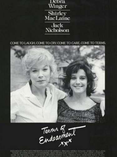 En1983 el dramaTerms of endearment, del directorJames L. Brooks, fue el ganador del premio a Mejor Película de ese año.