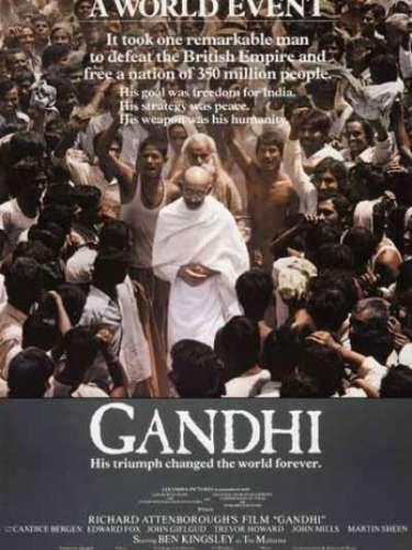 En 1982, el filme biográficoGandhi, del directorRichard Attenborough,obtuvo la distinción de ese año.