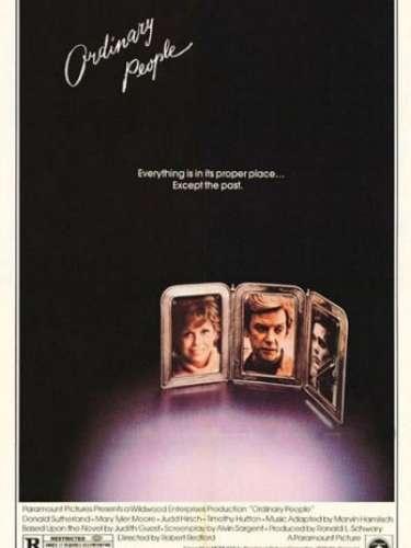 En 1980 el dramaOrdinary People, del directorRobert Redford, fue premiado por la Academia como el mejor filme.