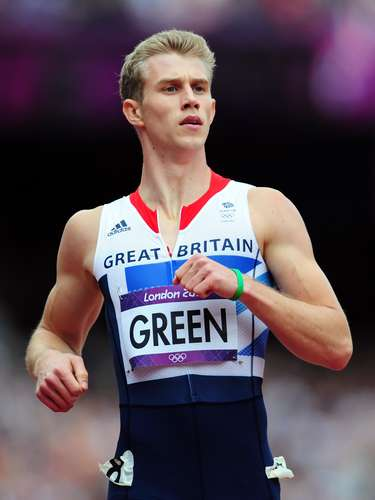 Otro de los guapos de las vallas es el británico Jack Green, quien compitió, con su esculpido cuerpo, en los 400m vallas y los relevos 4x400 en Londres 2012.