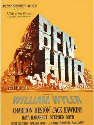 En 1959el drama histórico Ben-Hur, del director William Wyler, fue honrada con el galardón.