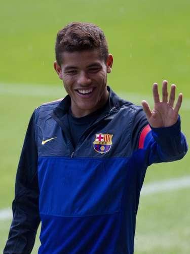 Jonathan dos Santos ya se recuperó de una lesión, pero no fue tomado en cuenta por el Barcelona.