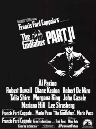En 1974 el directorFrancis Ford Coppola se lleva por segunda vez el codiciado premio por su fime Godfather Part II.