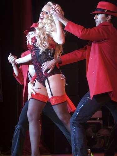 Lorena Herra también canta y baila en 'Qué Rico Mambo'