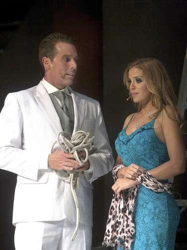 Malillany Marín y Raúl Osorio son parte del elenco de 'Qué Rico Mambo'. El actor que se postuló a una candidatura política el año pasado y no ganó, regresó a las tablas.