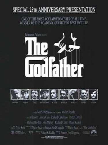 En1972 el dramaThe Godfather del directorFrancis Ford Coppola logra obtener el reconocimiendo de la Academia con esta distinción.