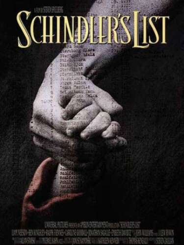 En 1993 el drama dirigido porSteven Spielberg,Schindler's list, fue la cinta reconocida en ese año.