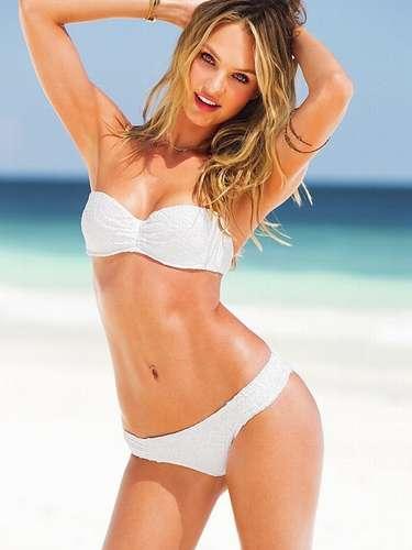 Candice Swanepoel es uno de los ángeles más famosos de Victorias Secret. Tiene un rostro angelical y uno de los cuerpos más envidiables de la industria fashion.