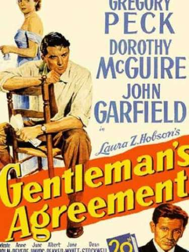 En 1947 el drama Gentleman's Agreement, del director Elia Kazan, fue distinguido con el tan anhelado premio.